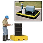 Spill Control: Pallets, Berms & Plugs