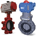 Butterfly Valves: Actuated