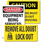 Signs: Electrical Safety & Lockout/Tagout