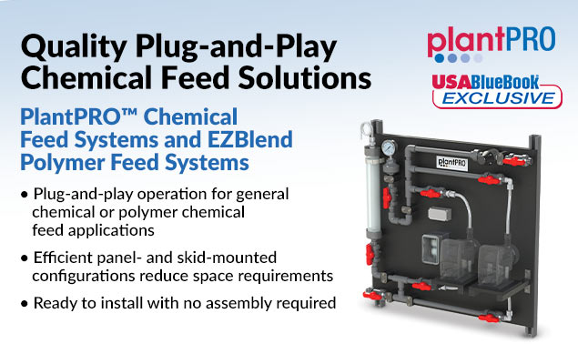 PlantPRO™ Chemical Feed Solutions