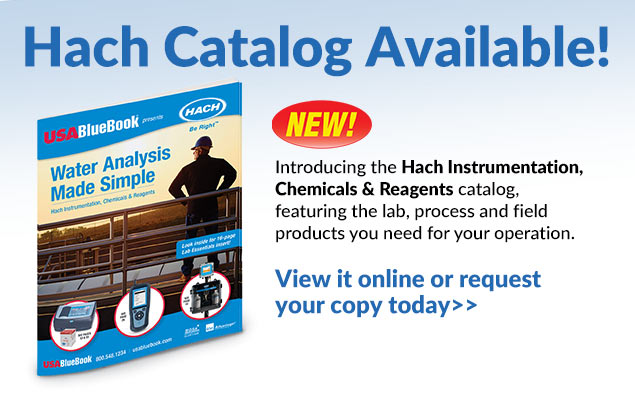 Hach Catalog Available