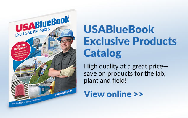 USABlueBook Exclusive Products Catalog