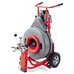 Ridgid K-7500 Cable Machine Auto-Feed With C100 Cable