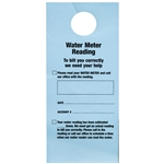 Doorknob Cards, Bilingual Water Meter Reading (100/PK)