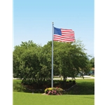 30 ft Aluminum Flag Pole
