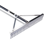 "24"" Head Landscape Rake 66"" Handle"