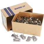 "S.S. Band-It Buckles 1/2"" Box of 100"