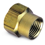 "Brass Double Female Nipple 3/4"" GHT x 3/4"" GHT"