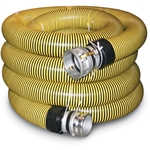 "Crush Proof Suction Hose 1.5"" NPT(M) & Quick Alum(F) 20'"