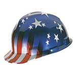 MSA Freedom Series Helmet American Stars and Stripes
