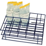Carrying Rack for 4 oz Whirl- Pak Bags, Holds 15 Bags