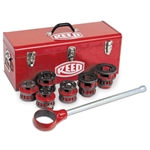 "Reed R12 Die Set, 1/2""-2""NPT Die Head with Cutting Dies"