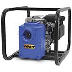 "AMT 2"" Solids Handling Pump 5HP, Honda, Gas, Roll Cage"