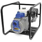 "AMT 3"" Trash Pump 8HP, B&S OHV"