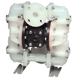 "SANDPIPER® Air-Powered Diaphragm Pump (Plastic ""S"" Series)' 45 GPM' S1FB3P2PPUS000"
