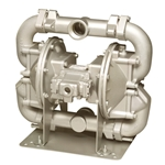 SANDPIPER® Air-Powered Diaphragm Pump (Solids Handling Flap Valve)' 140 GPM' HDF2' DN6A
