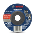 "Bosch Type 27 Cutting Wheel, 60 Grit, 4-1/2"" x .040"" x 7/8"""