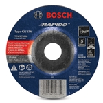 "Bosch Type 27 Cutting Wheel, 60 Grit, 5"" x .040"" x 7/8"""