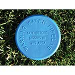 "4"" Blue SoilMarker™ for Water with Stake"