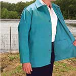 Cotton Sateen Welding Jacket X-Large