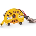 Air Powered Belly Saw  for 8  to 24 in Pipe' US60278