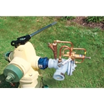 "Beeco Wide-Range Hydrant Relief Valve, 500 gpm, 20-20 psi, 2.5"" NST(F) Inlet x 2"" NPT(F) Outlet"
