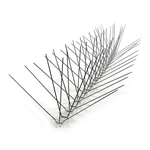 Bird-X 100' Wide Width Stainless Steel Bird Spikes