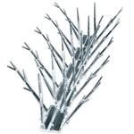 Bird-X 100' Regular Width Polycarbonate Bird Spikes