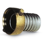 "Aluminum Hose Shank Coupling 1 1/2""(F)NST' AB150NSTF"