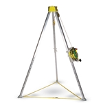 MSA Workman Tripod' 8-Foot Chemical Resistant' 10102002