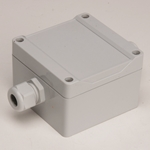 Sensor Cable Junction Box for Greyline Flowmeters (To Splice Extra Cable), 1555E2GY