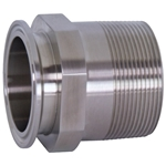 "1"" x 3/4"" Male NPT Clamp Adapter' 21MP-R10075"