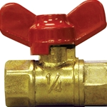 "Miniature Ball Valve, 1/4"" (F x F), Low-Lead' SMV533LF"
