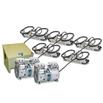 Kasco® Robust-Aire™ Aeration System w/ Floor-Mount Cabinet, 240V, 5 Diffusers, 500' Tubing, RAH5