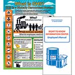 "GHS Kit: (One) 24"" x 18"" Poster & (Twenty) Booklets per Pack' HC12A"