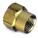 "Brass Double Female Nipple 3/4""' No Lead' 757402-12"