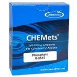 Refill CHEMets' Ortho-Phosphate 10 to 150 ppm' R-8515' 30/Pack