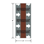 Directional Flow Tape: Refrigerant (with Arrows)'  3 inch x 20 foot roll