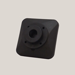 Adaptor' Black' 1.00 in' HGS#2' Pulsafeeder' L0400300-FPP