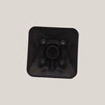 Adaptor' Black' 0.75 in' HSG#2' Pulsafeeder' L0400200-FPP