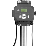 "AquaTrans™ AT600 Ultrasonic Transit Time Flowmeter w/ Transducer Assembly, 8-24"" Pipe, 50' Cable, 4-20mA + Alarm + Totalizer Outputs, GE Sensing"