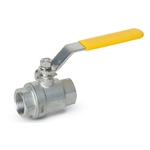 "304 Stainless Steel Full Port Ball Valve' 1-1/2"" NPT"