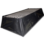 "BlackDiamond 2-Drum Flex Pallet 24"" x 48"" x 13.75"""