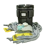 BlackDiamond 95-Gal Poly-SpillPak Drum Spill Kit Universal Absorbs up to 25 Gal