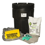 BlackDiamond 95-Gal Poly-SpillPak Drum Spill Kit Oil Only Absorbs up to 25 Gal