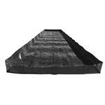 Black Diamond L-Bracket Containment Berm, 8' x 6' x 1'
