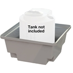 Peabody™ ProChem™ Containment Basin' 400 Gallons
