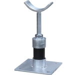 Adjustable Pipe & Meter Support Stand' Saddle-Style (Fits 12'' Pipe)