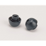 Black Soft Rubber Earbuds for Geophone (Sold by the Pair)
