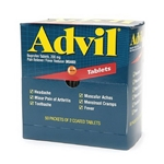 Advil Tablets' 2/Pack' 50 Packs/Box
